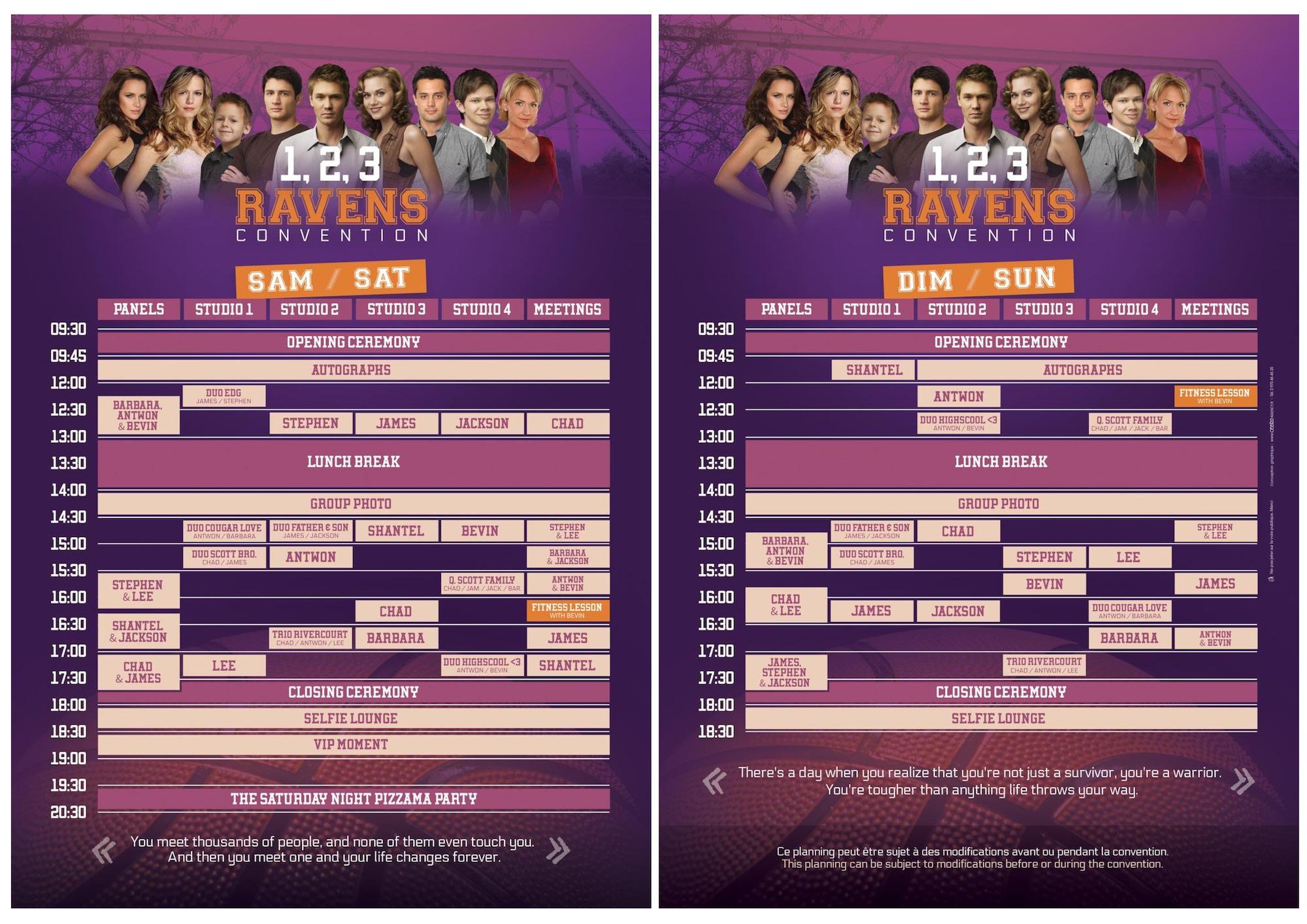 Convention OTH - 1, 2, 3, Ravens programme