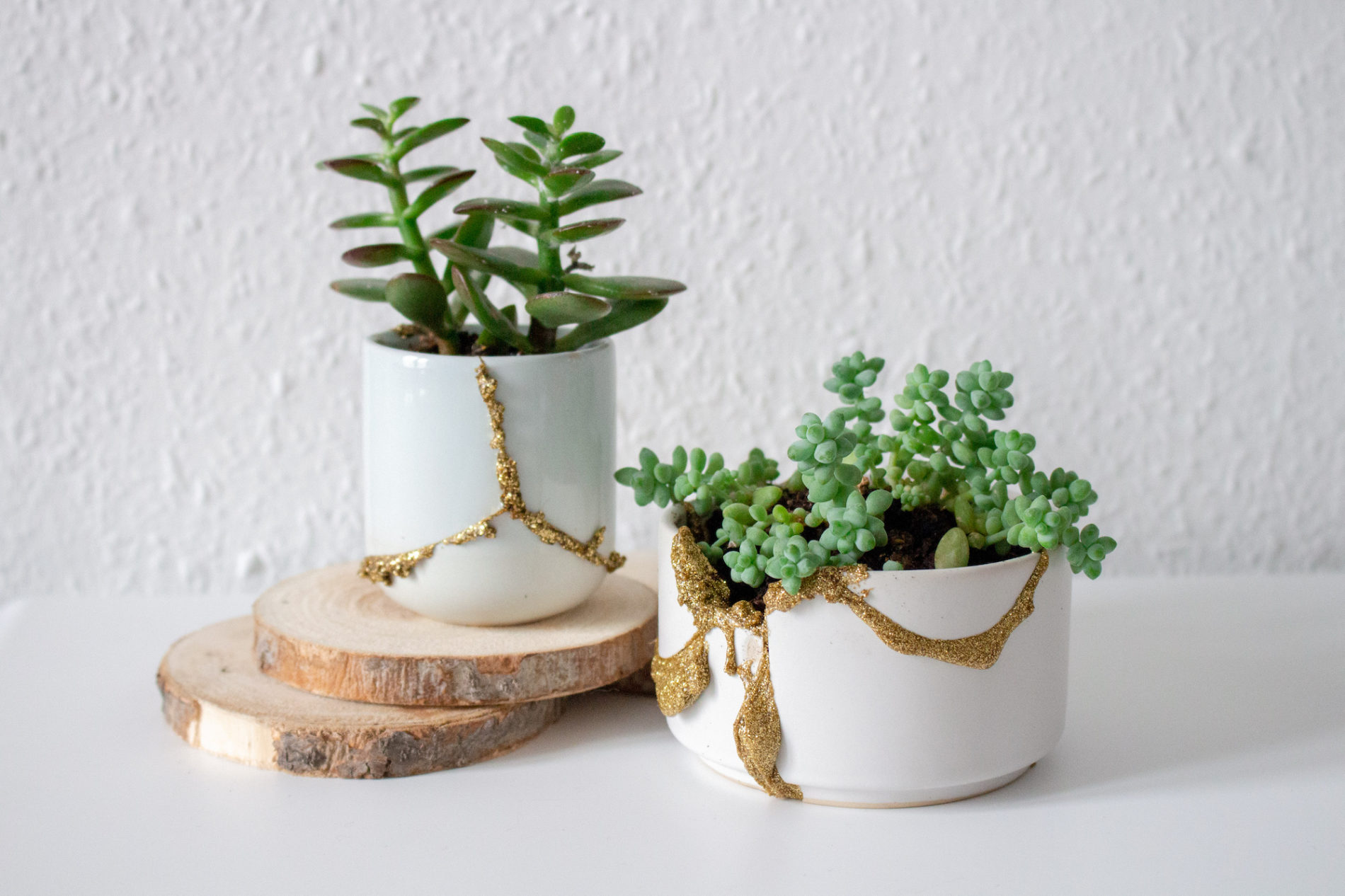 DIY pot cassé