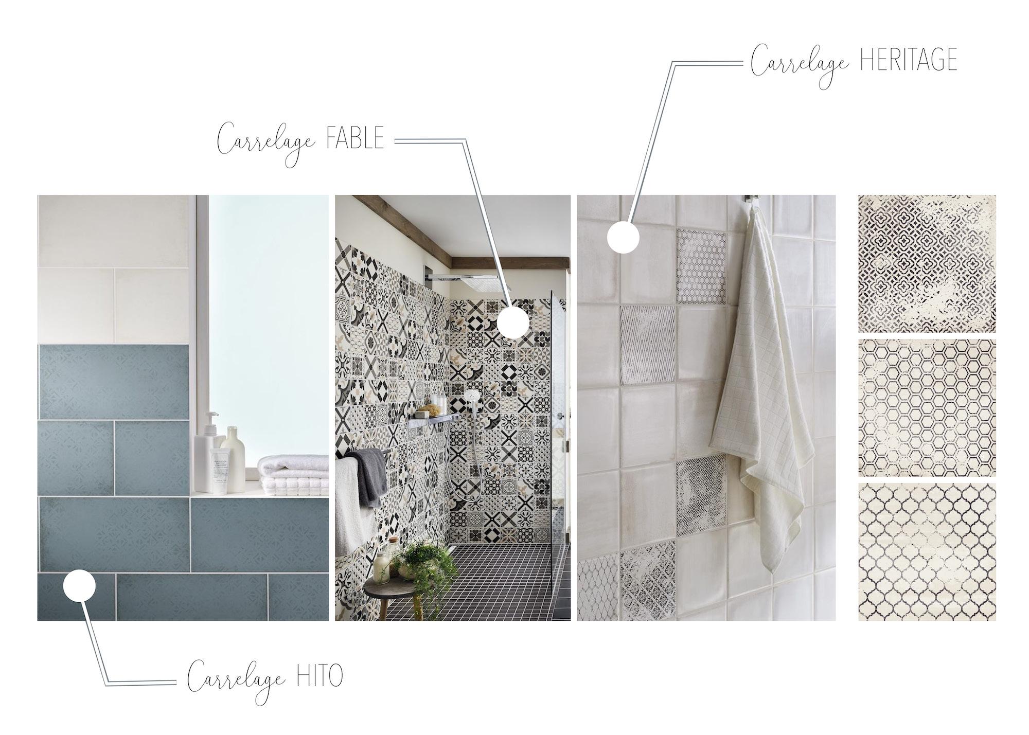 Inspirations déco par Lapeyre : la salle de bain - The Bright Side